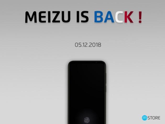 Meizu est de retour en France avec un nouveau smartphone
