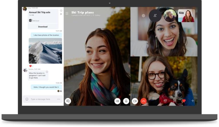 Microsoft veut forcer les utilisateursde Skype à migrer vers sa version 8