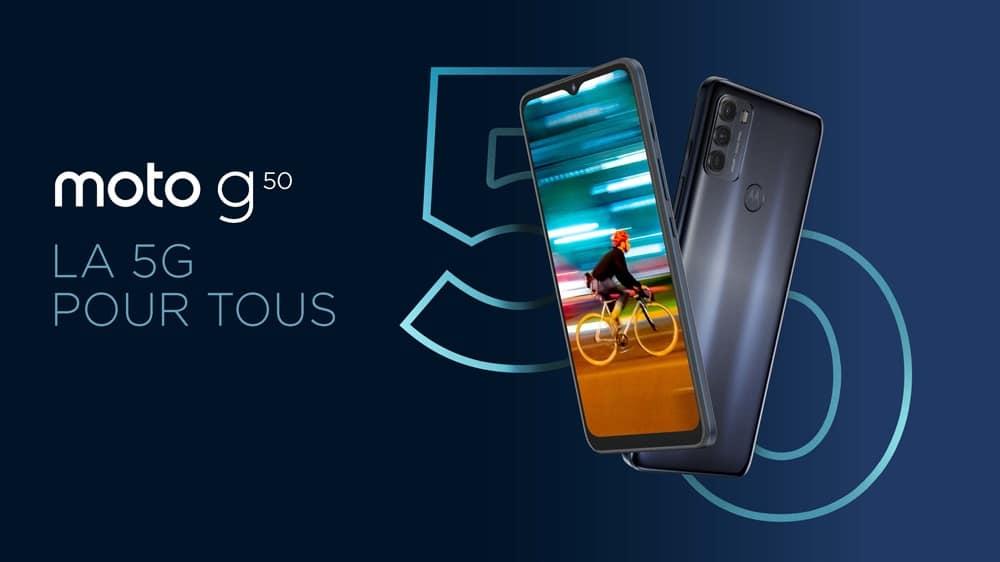 Moto G50 et G100 : Motorola présente deux smartphones 5G et ses nouvelles ambitions