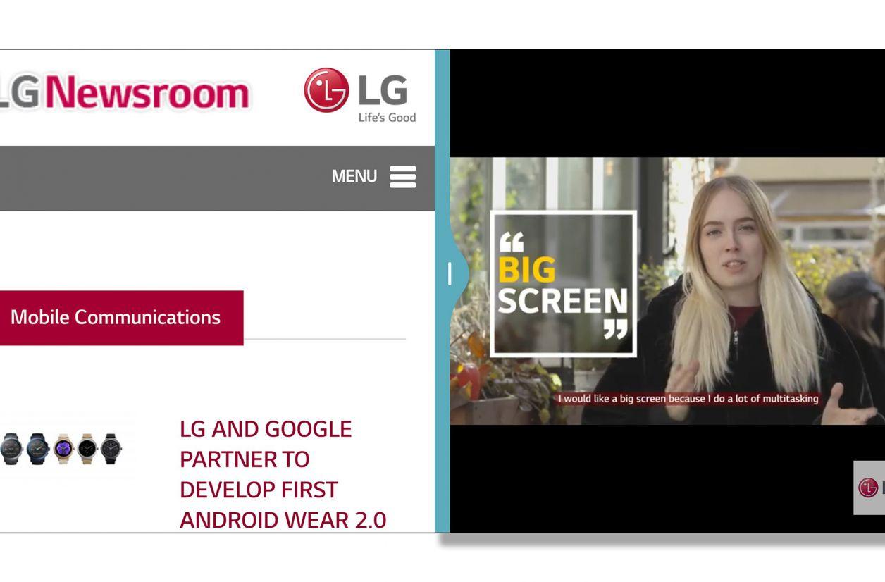 MWC 2017 - L'interface du LG G6 sera adaptée à son écran 18:9