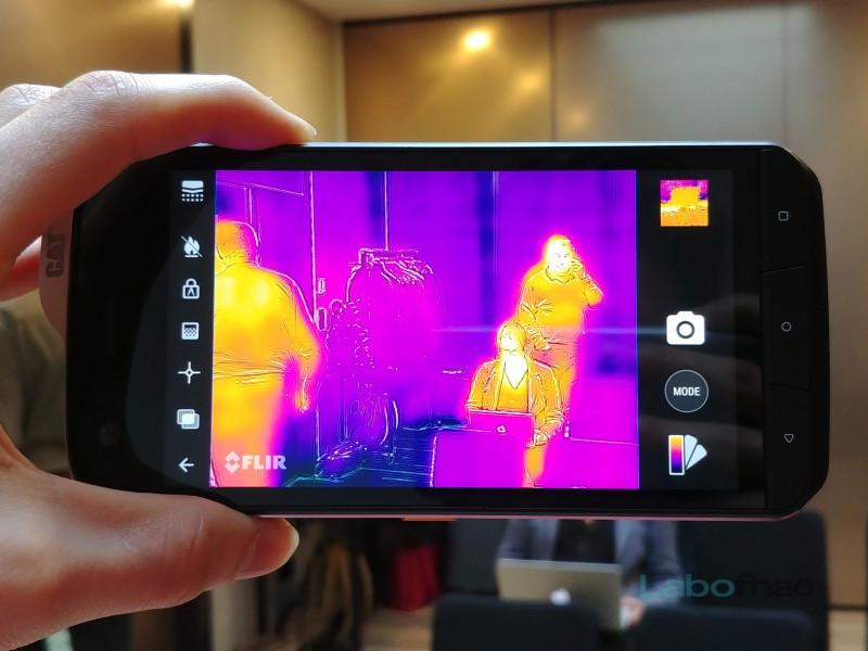 MWC 2018 - CAT S61 : le smartphone à caméra thermique revient, encore mieux équipé