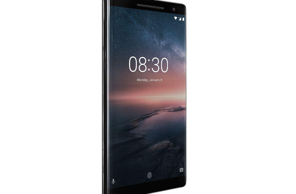 MWC 2018 - Le Nokia 8 Sirocco passe au pOLED et intègre le programme Android One