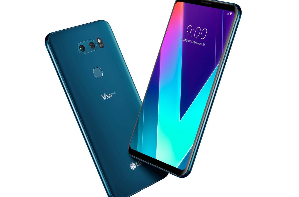 MWC 2018 - LG met le cap sur l'IA avec le V30S ThinQ
