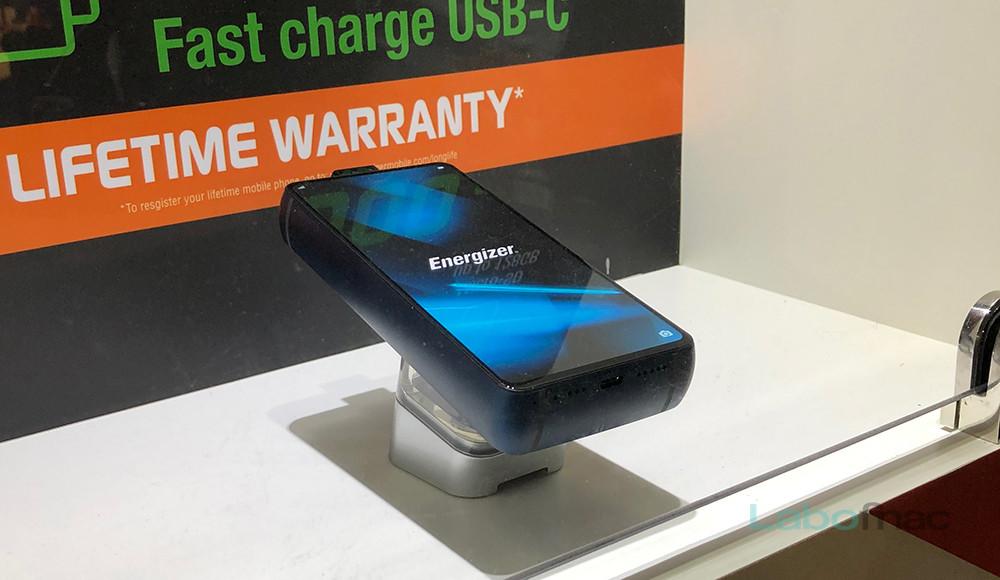 MWC 2019 - Energizer Power Max P18K Pop : est-ce une batterie externe ou un smartphone ?