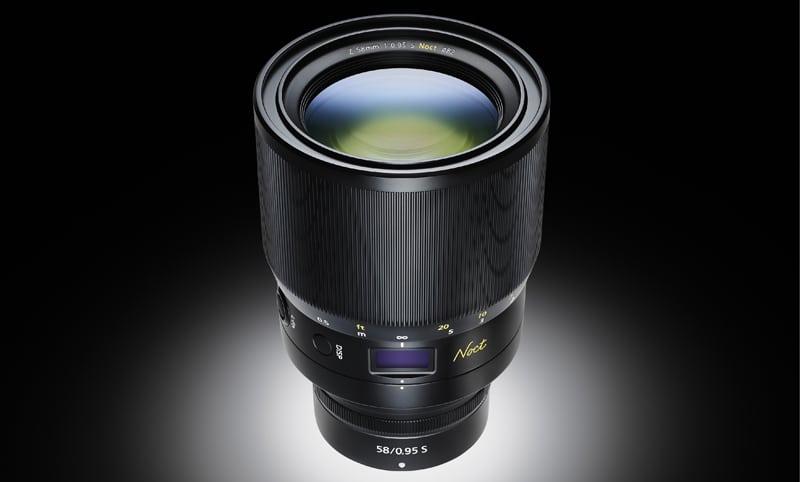 Nikkor Z 58 mm f/0,95 S Noct : l'optique ultra-lumineuse arrive enfin