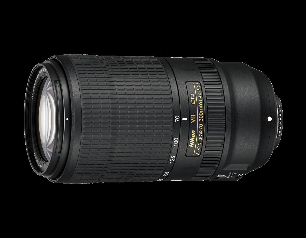 Nikon présente son zoom AF-P NIKKOR 70-300 mm f/4.5-5.6E ED VR