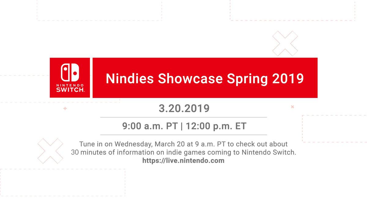Nindies Showcase : Nintendo donne rendez-vous demain