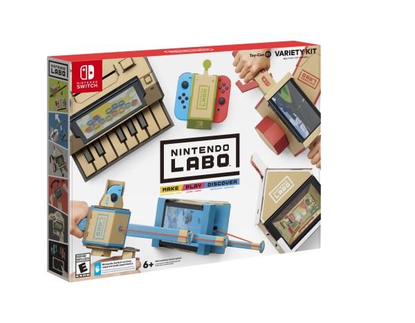 Nintendo dévoile sa petite surprise pour la Switch, le Nintendo Labo