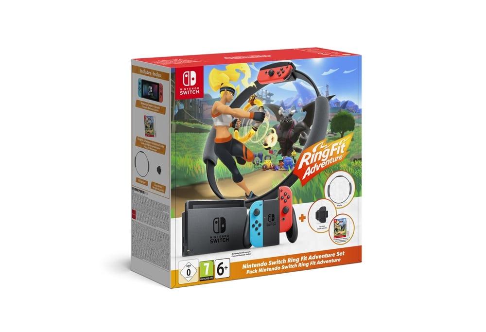 Nintendo lance un bundle Switch avec son jeu star Ring Fit Adventure