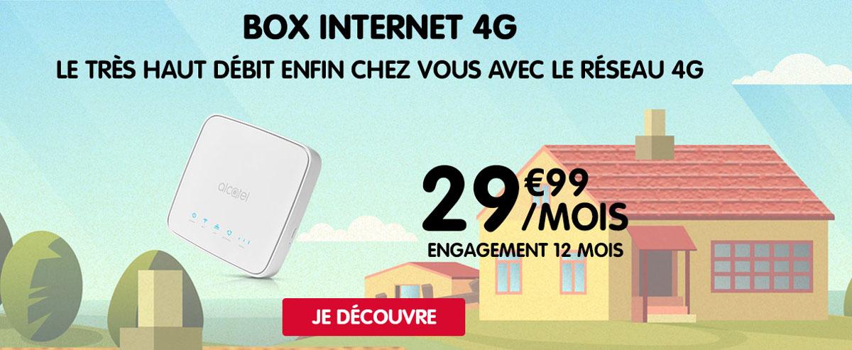 NRJ Mobile dévoile une box 4G vraiment illimitée à 29,99 euros par mois