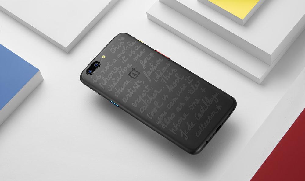 OnePlus 5 JCC+ : OnePlus décline son smartphone aux couleurs de Castelbajac