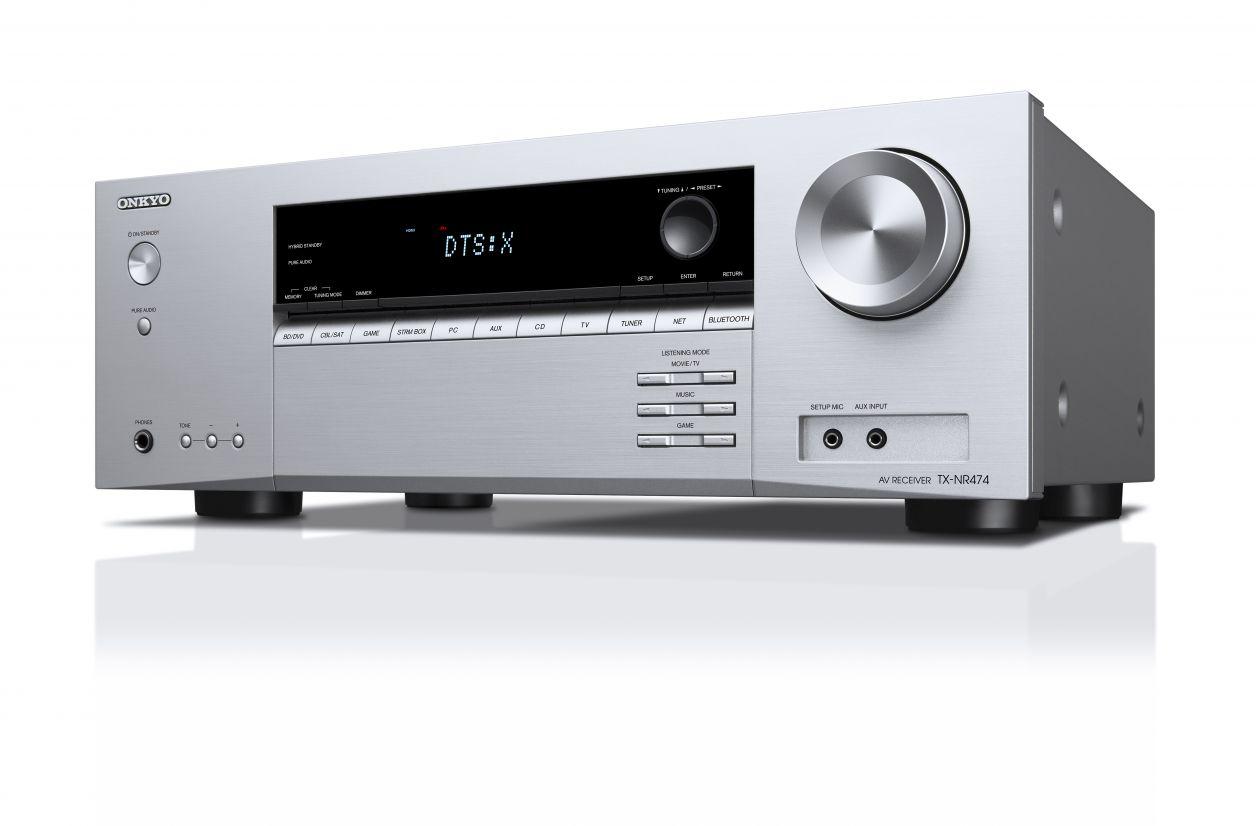 Onkyo TX-NR474 : multi-room, Dolby Atmos et DTS:X pour l'entrée de gamme