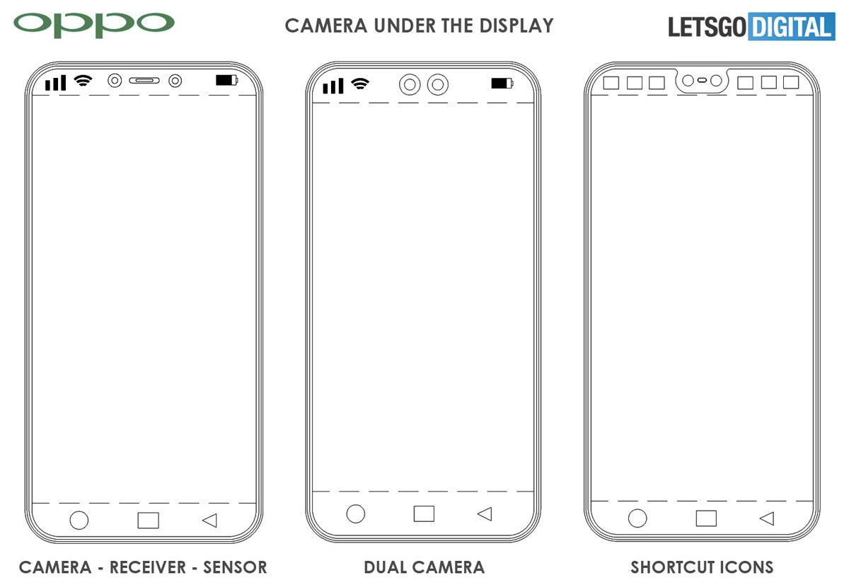 Oppo travaille sur un smartphone avec appareil photo sous l'écran