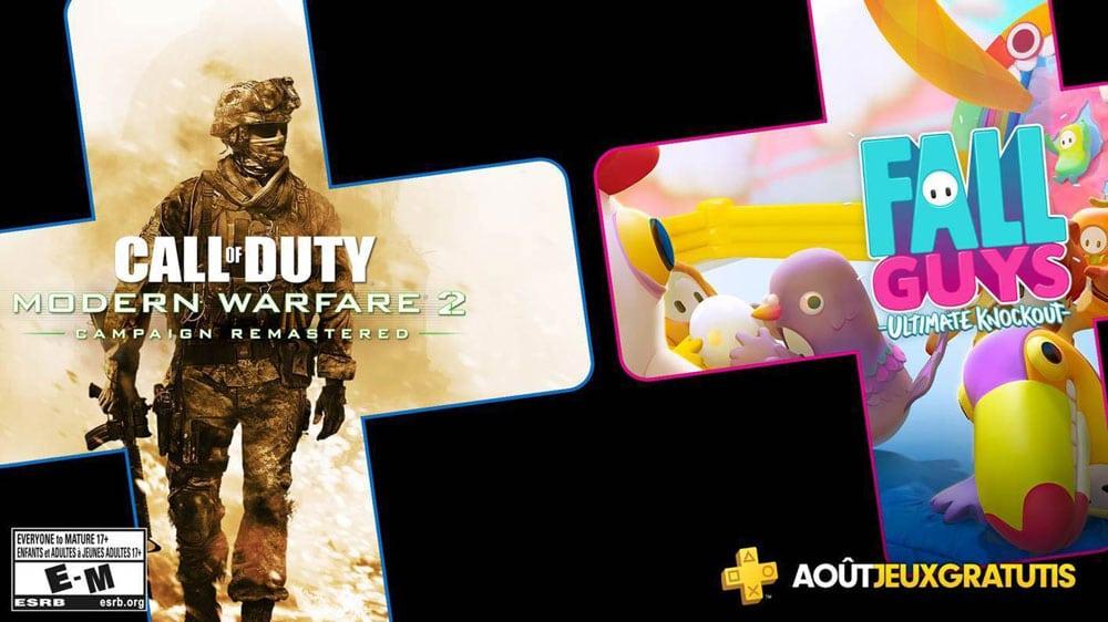 PlayStation Plus : les jeux gratuits du mois d'août 2020 dévoilés