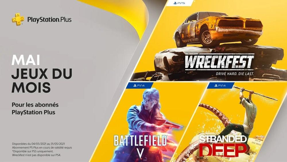 PlayStation Plus : quels sont les jeux gratuits pour PS4 et PS5 en mai 2021 ?