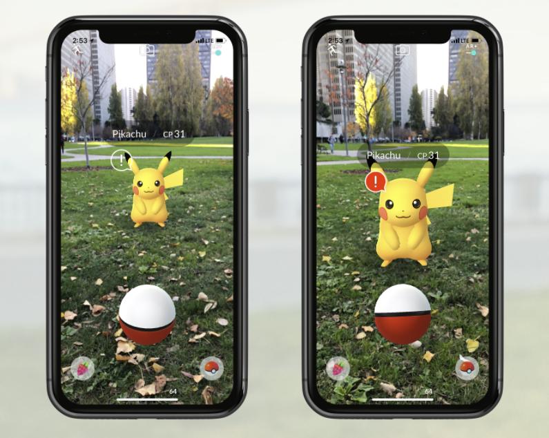 Pokémon Go adopte un nouveau mode AR+ plus réaliste (iOS)