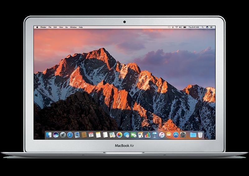 """Promo - Le MacBook Air 13,3"""" Core i5, 8 Go et 128 Go à 849,99 euros"""