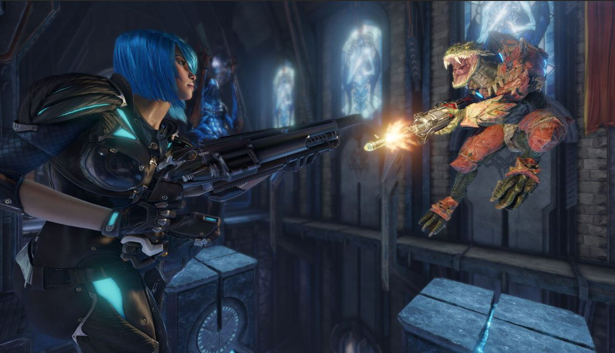 Quake Champions va finalement faire plaisir aux fans de fast-FPS