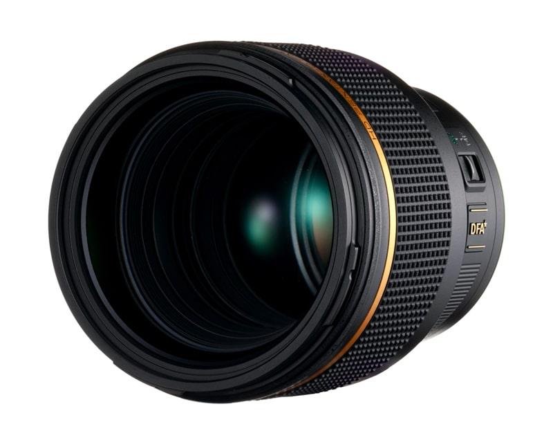 Ricoh annonce le développement de l'objectif HD Pentax-D FA ★ 85 mm f/1,4 SDM AW