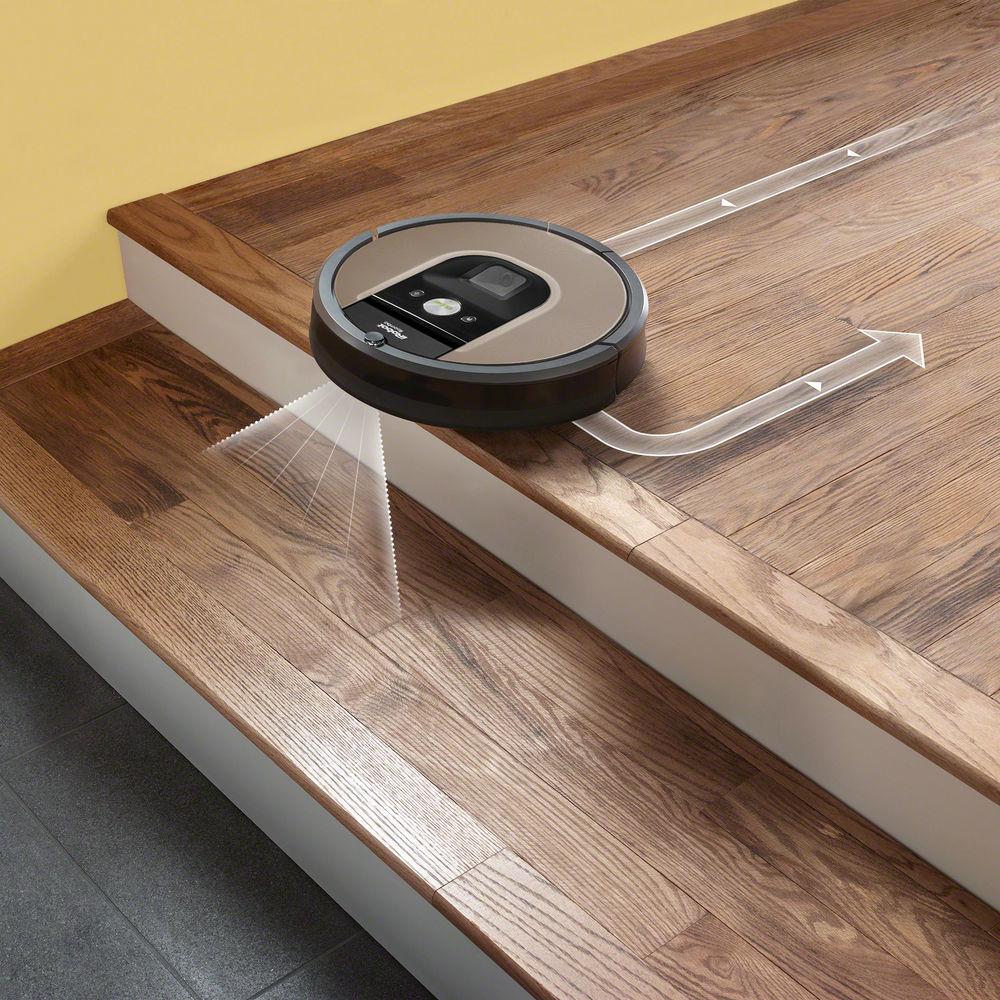 Roomba 966, le nouvel aspirateur robot connecté d'iRobot