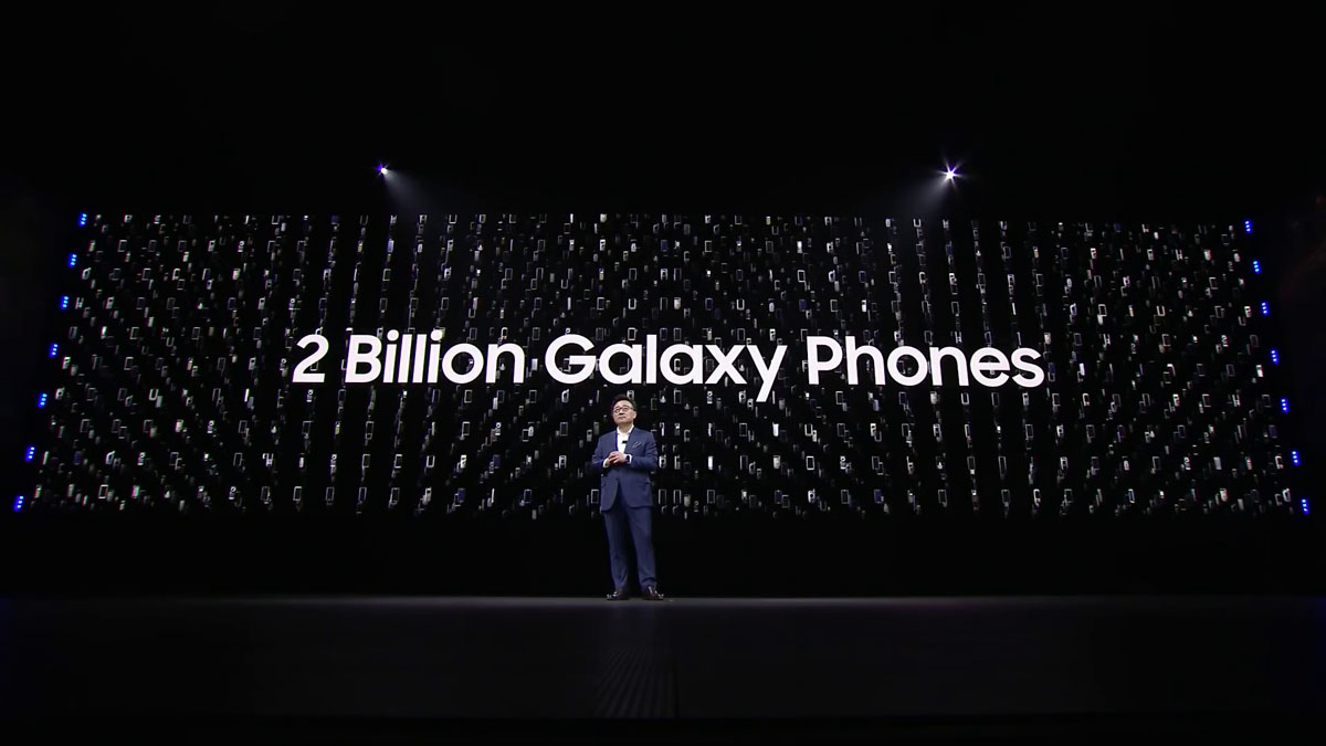 Samsung a vendu plus de 2 milliards de Galaxy en moins de dix ans