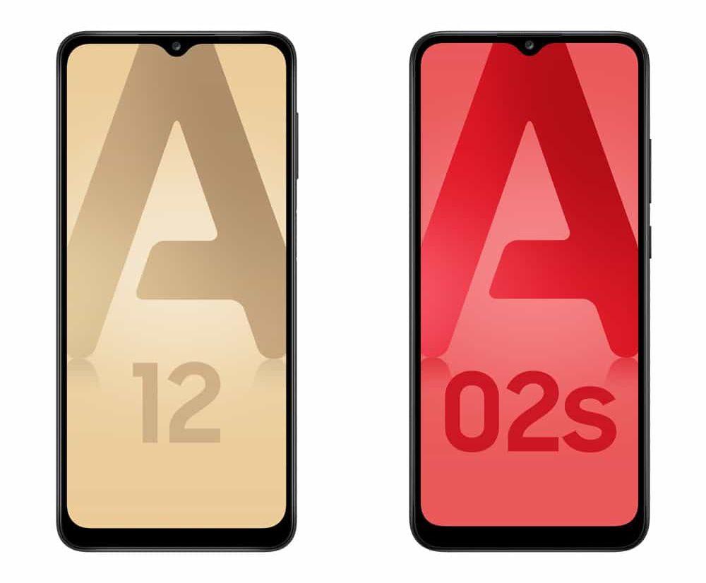 Samsung Galaxy A12 et A02s : deux nouveaux smartphones à moins de 200 euros