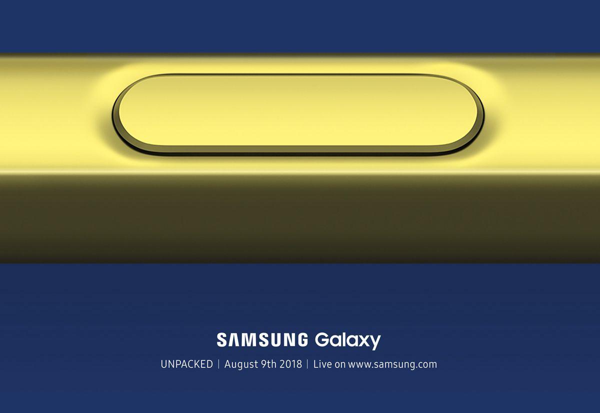 Samsung Galaxy Note 9 : sa date de présentation est officielle