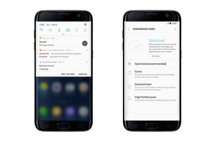 Samsung Galaxy S7 : la mise à jour vers Android 7.0 Nougat est en route