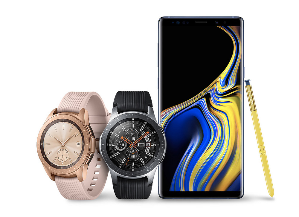 Samsung Galaxy Watch : Tizen aux commandes d'une montre mi-urbaine, mi-sportive