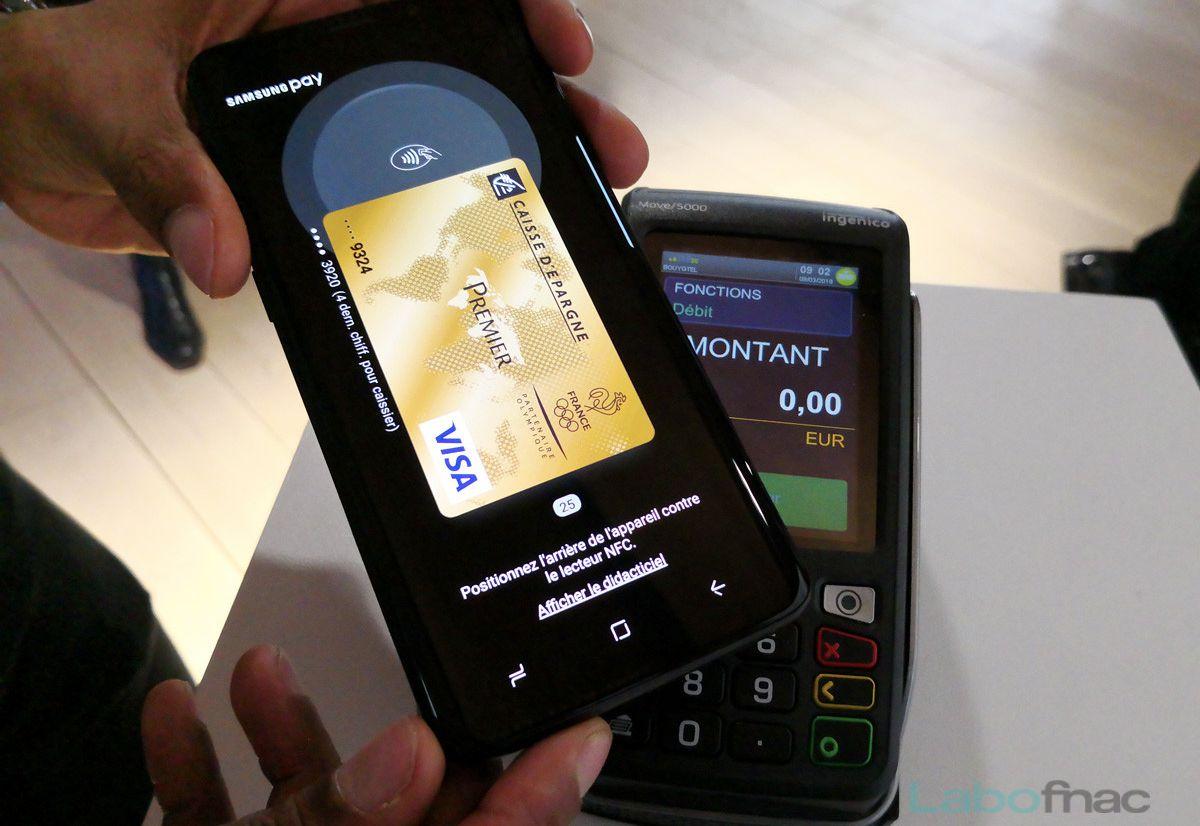 "Samsung Pay arrive en France ""avant l'été"""