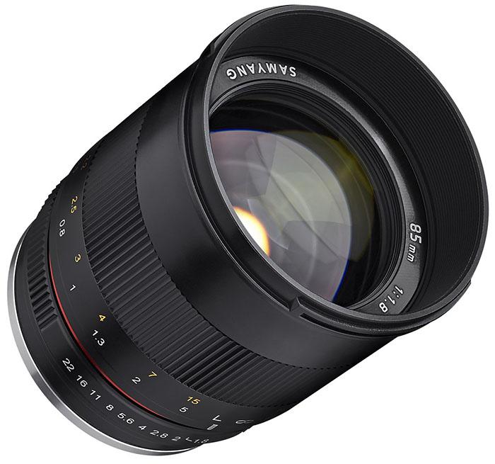 Samyang dévoile un 85 mm f/1.8 pour APS-C et micro 4/3