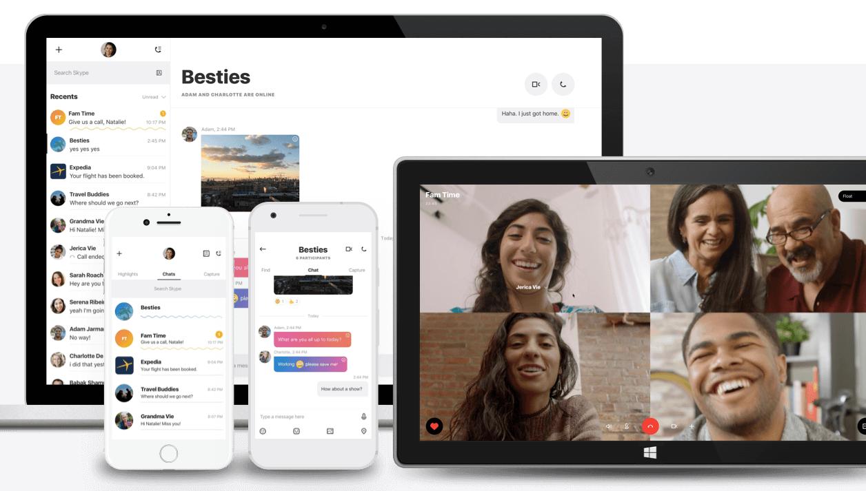 Skype fait peau neuve, et s'inspire (entre autres) de Snapchat
