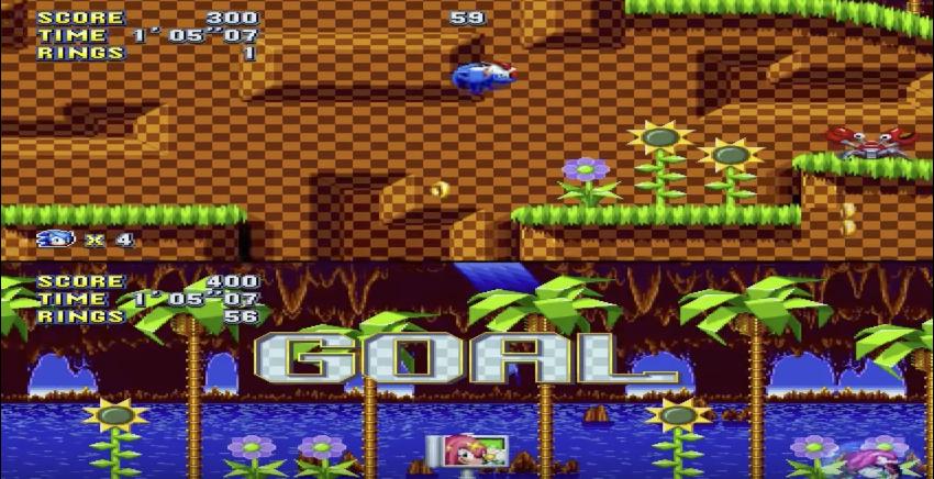 Sonic Mania dévoile un mode Compétition hérité de Sonic 2