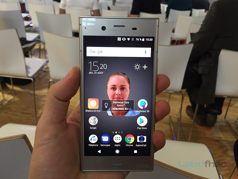 Sony Xperia XZ1 : notre prise en main (vidéo)