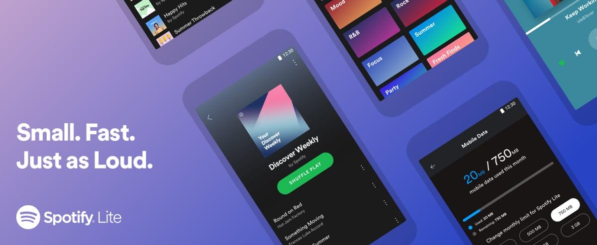 Spotify lance une version allégée de son application Android dans 36 pays