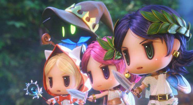 Square Enix drague les mobiles avec World of Final Fantasy Meli-Melo