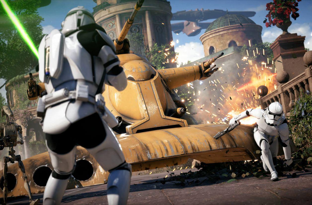 Star Wars Battlefront 2 : le trailer de lancement est là