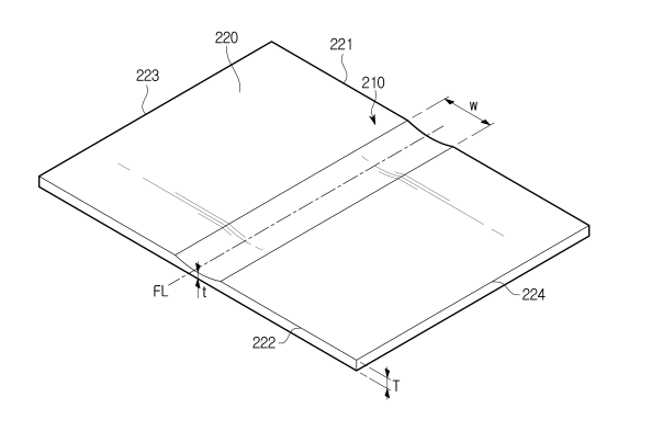 Un nouveau brevet de tablette pliable chez Samsung