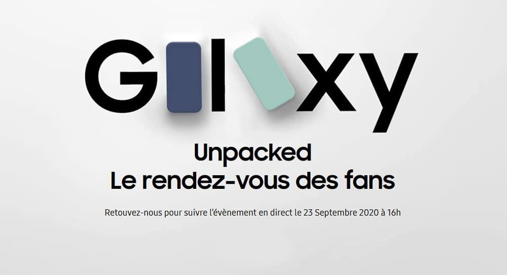 Unpacked for Every Fan : un nouvel événement Samsung le 23 septembre
