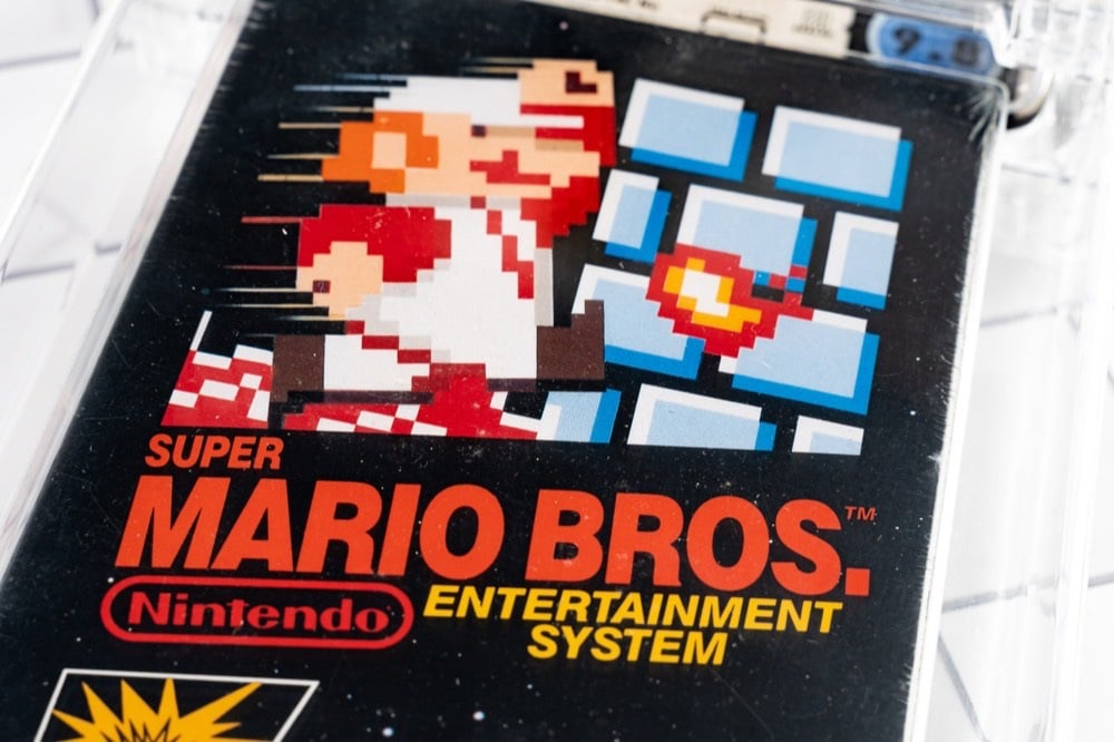"Vendue 2 millions de dollars, cette cartouche de ""Super Mario Bros."" bat un record"