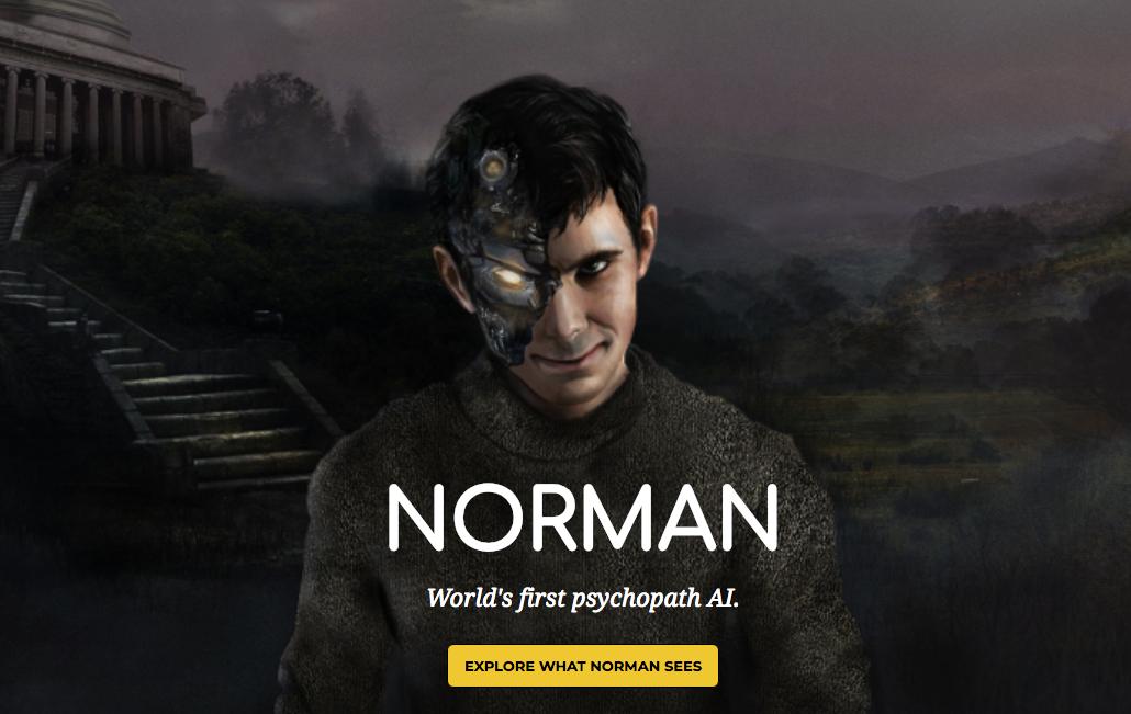 Voici Norman, une IA dépressive et un brin psychopathe