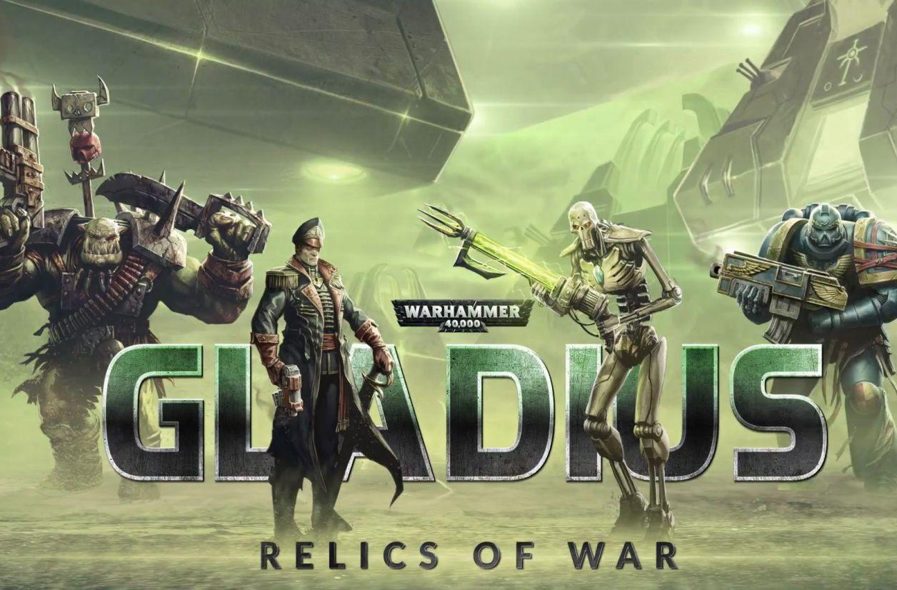 Warhammer 40K donne dans le 4X avec Gladius - Relics of War