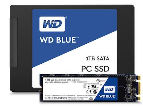 WD Blue et WD Green, de nouveaux SSD pour WD
