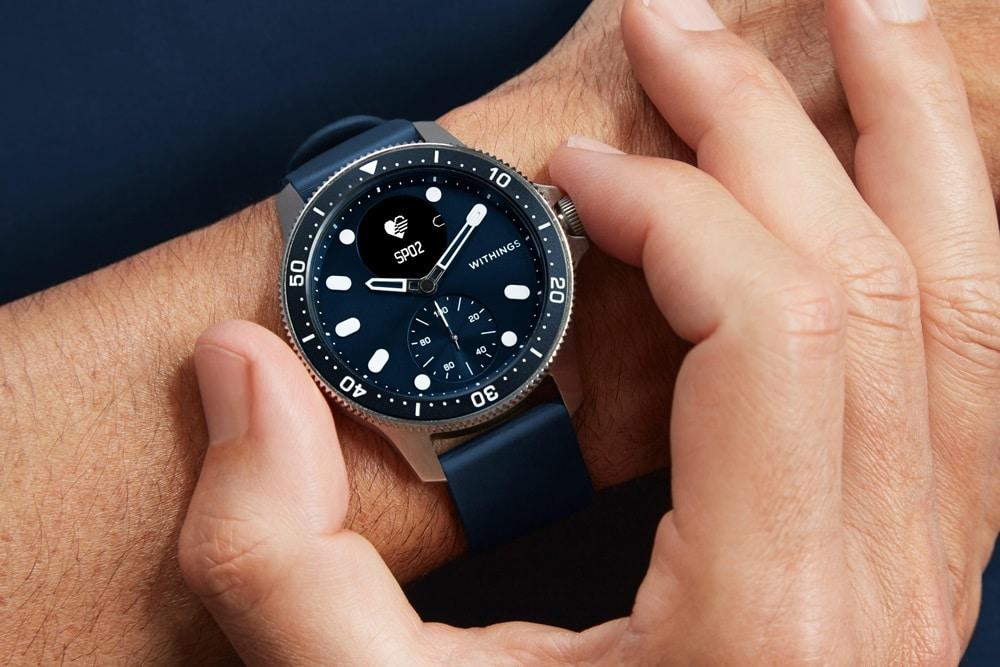 Withings ScanWatch Horizon : une version inspirée des montres de plongée