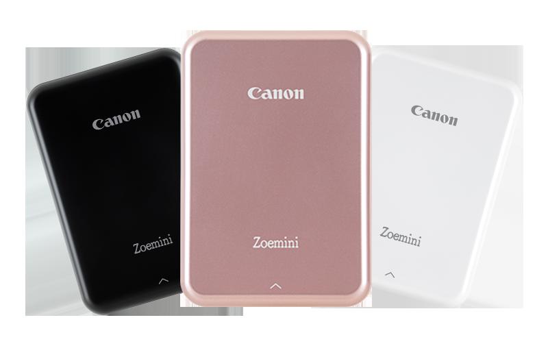 Prise en main de la Canon Zoemini : le Zink servi par une application mobile réussie