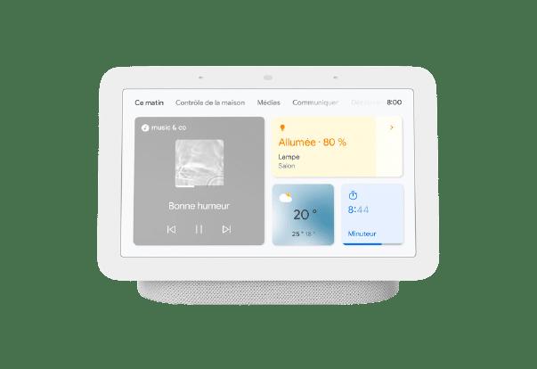 Prise en main du Google Nest Hub 2e gen : un écran pour surveiller votre sommeil, la bonne idée ?