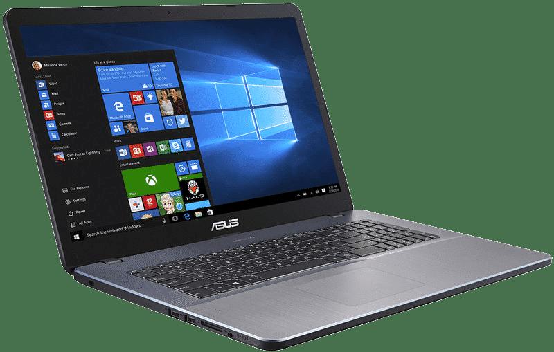 Test Labo du Asus Vivobook 17 X705UA : un grand écran pour la bureautique