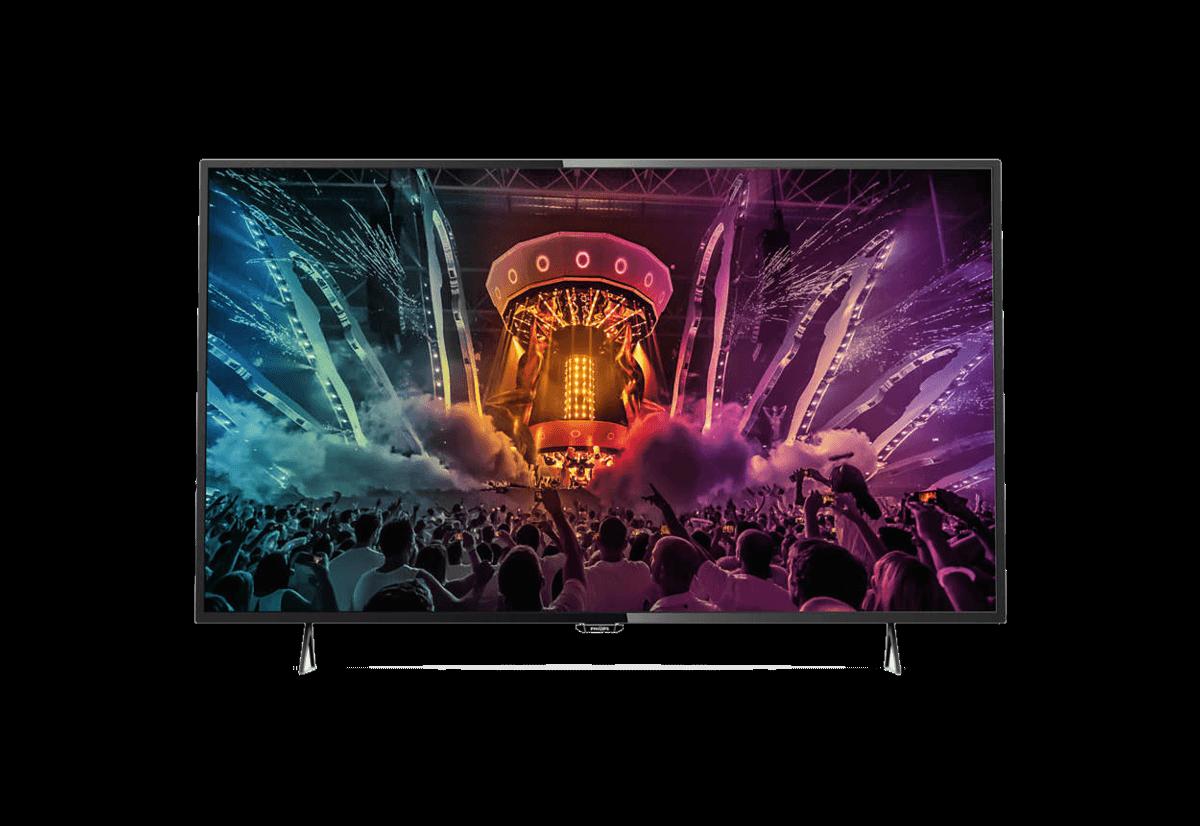 Test Labo du Philips 43PUH6101 : l'Ultra HD à petit prix