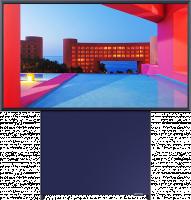 Test Labo du Samsung QE43LS05TAU (The Sero) : le TV tourné vers les contenus mobiles